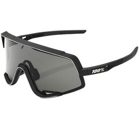 100% Glendale Colored Lens Sunglasses Soft Tact Black